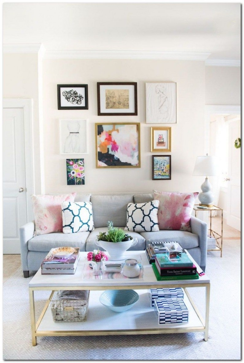 How to Decorating Small Apartment Ideas on Budget - The Urban  - Apartment Living Room Decor Ideas