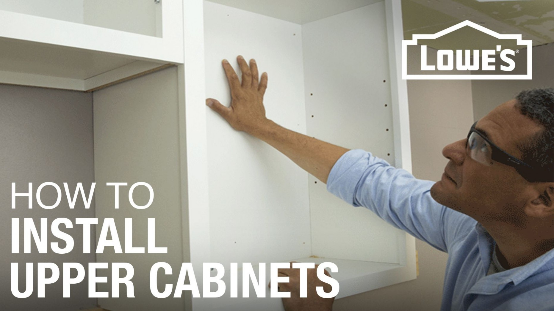 How to Hang Cabinets - How To Finish The Bottom Of Upper Kitchen Cabinets