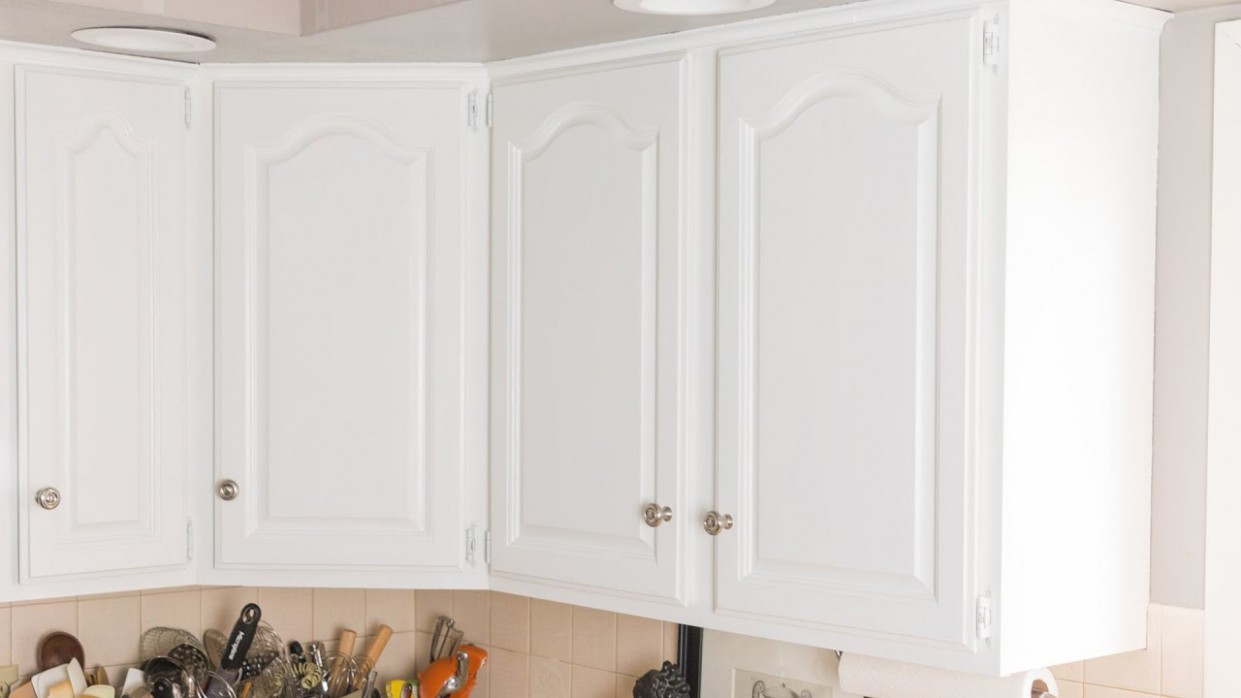 How to Paint Kitchen Cabinets - Youtube Painted Kitchen Cabinets