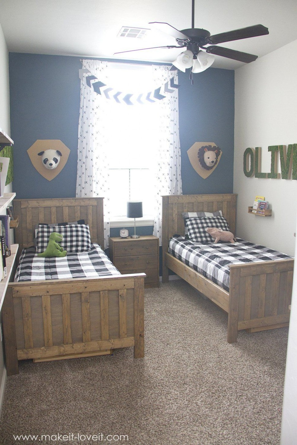 Ideas for a Shared BOYS Bedroom (yay, all done!!)  Small kids  - Bedroom Ideas Youth