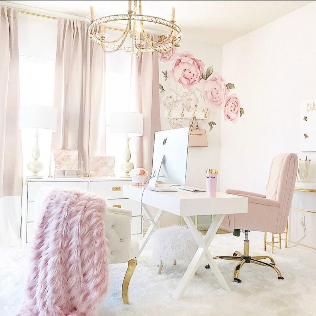 IG: @ginabourne Pinterest: ginabournepins) home office goals, home  - Home Office Ideas On Pinterest