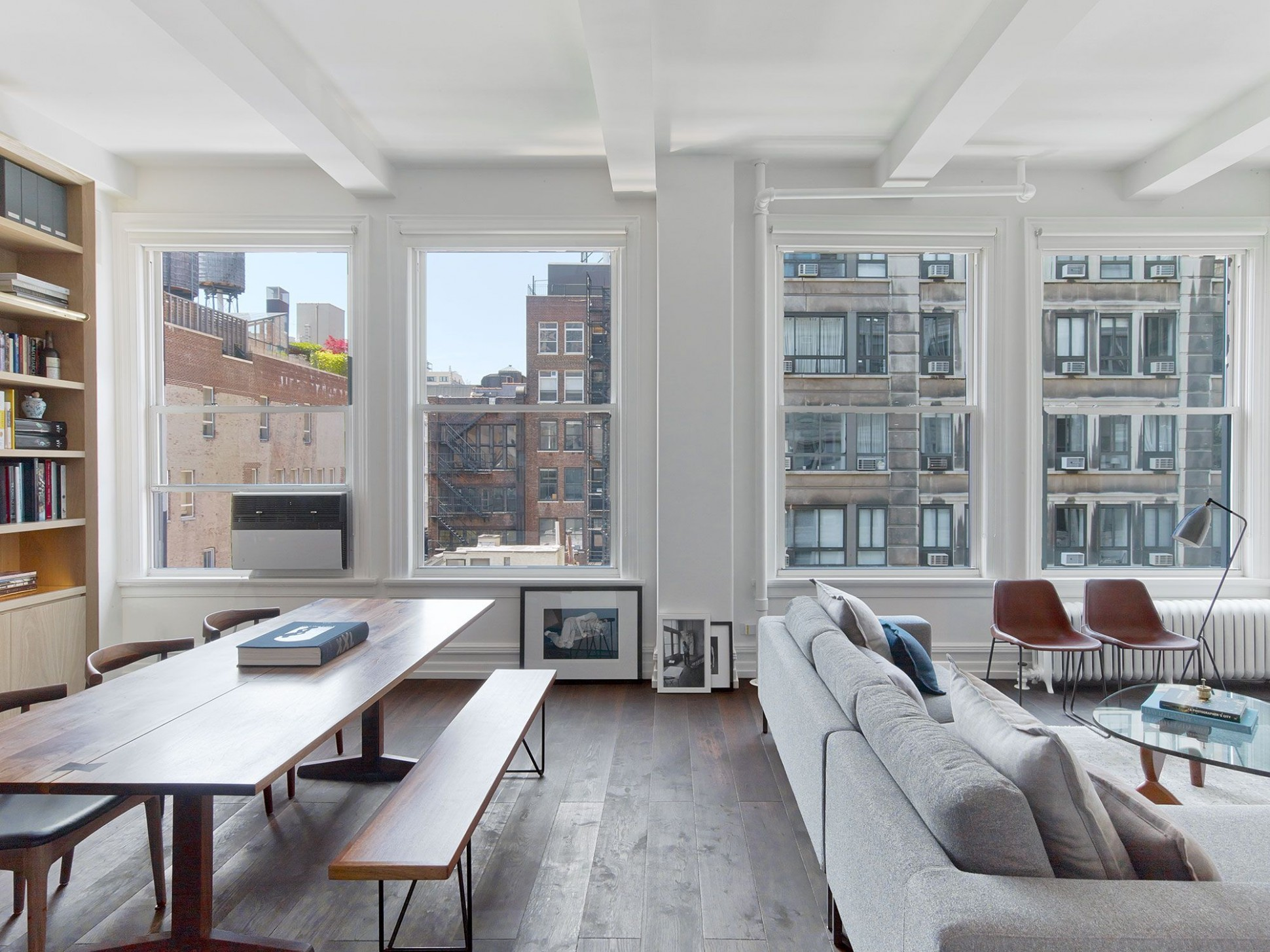 Inside a Minimalist New York City Apartment Filled with Natural  - Apartment Design New York
