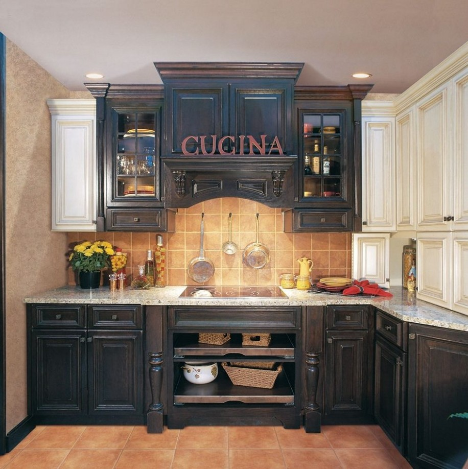 Inspiring Distressed Kitchen Cabinets In Home Decor Plan With  - Distressed Kitchen Cabinets Pictures