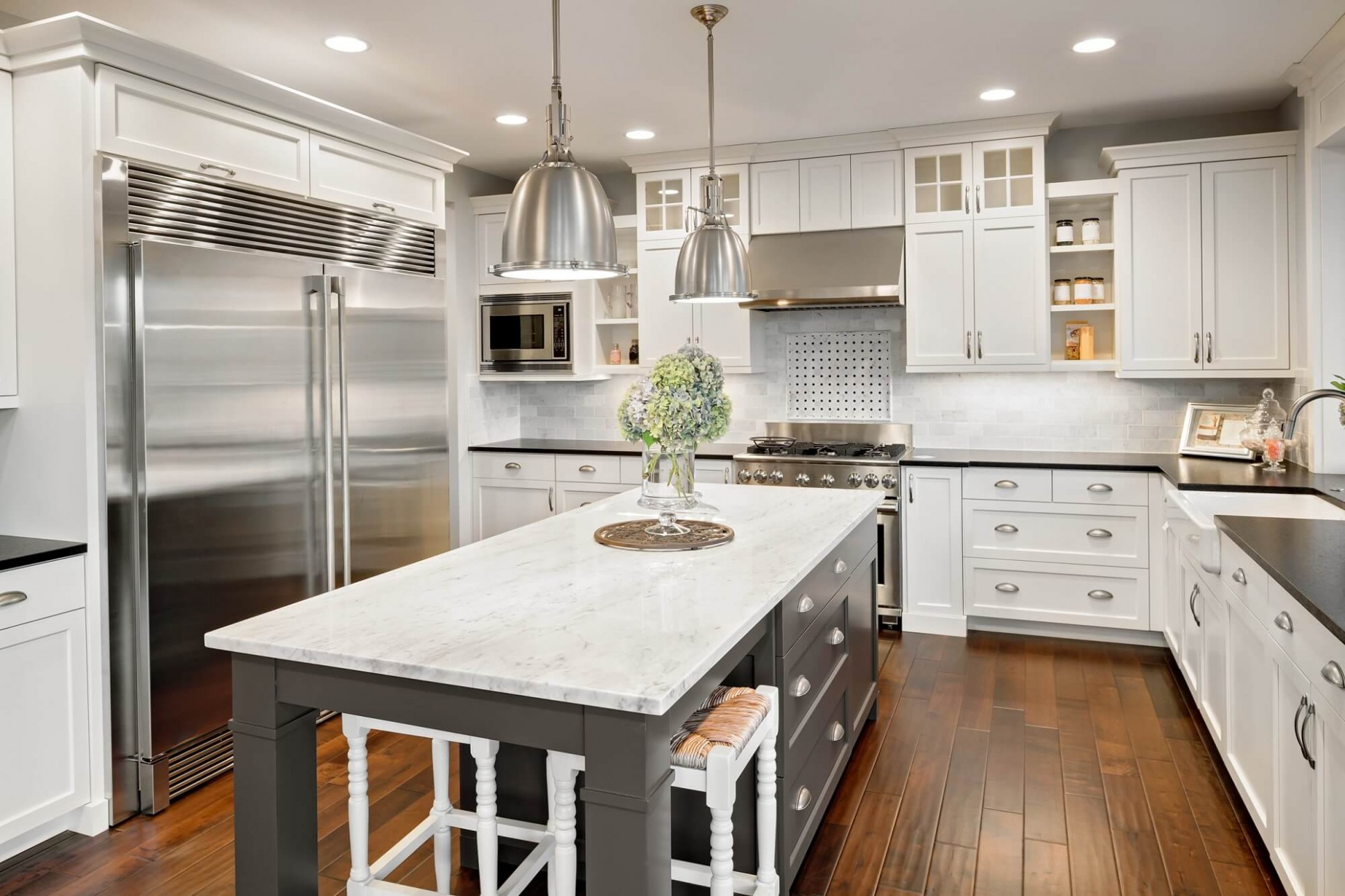 Install Floors or Cabinets First? Kitchen Reno Tips  - Matching Kitchen Cabinets And Flooring