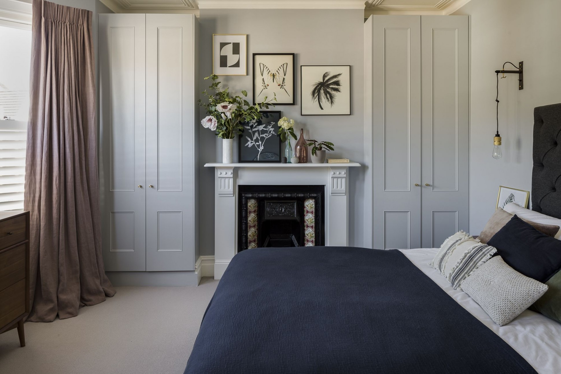 Interior Design by Imperfect Interiors at this Victorian terraced  - Bedroom Ideas Victorian Terrace