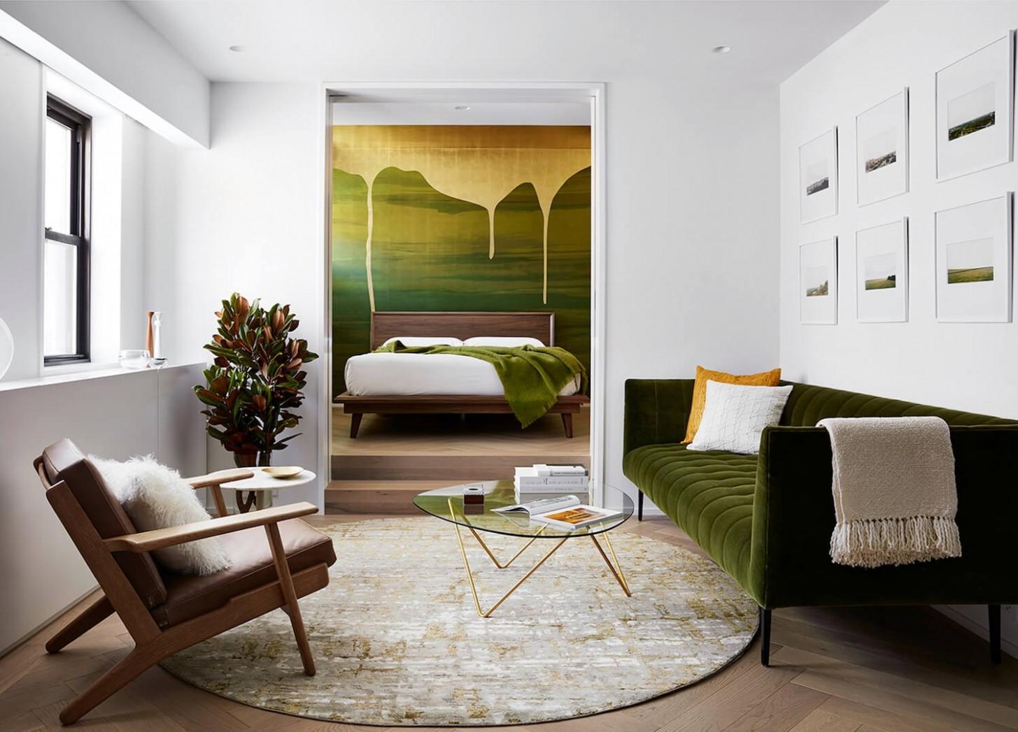 Interior Design Project Brings Nature Inside This New York Apartment - Apartment Design New York