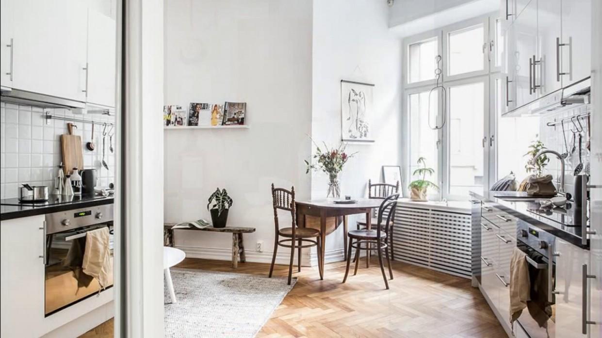 interior design ▸ small Scandinavian apartment in low cost style - Scandinavian Apartment Decor Ideas