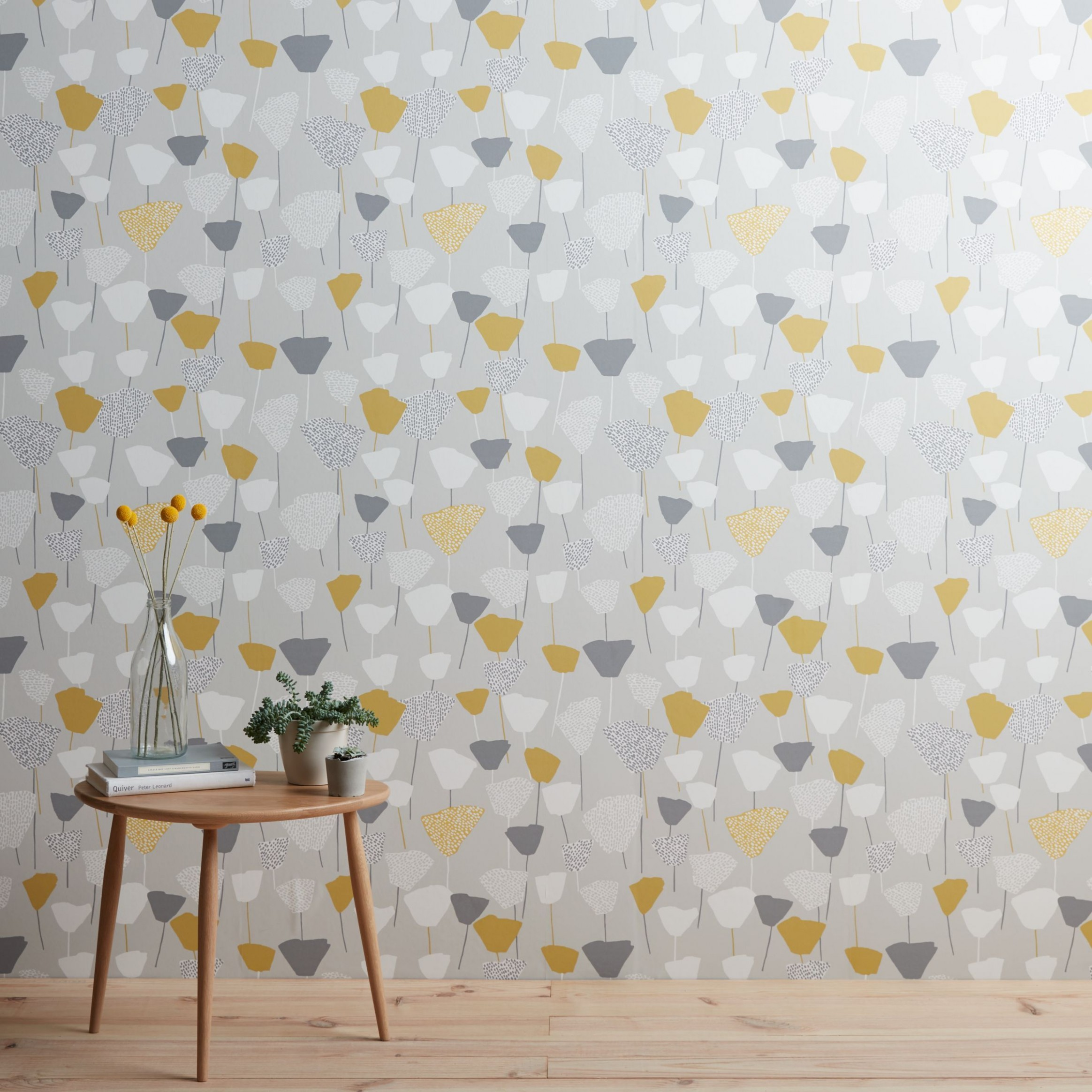 John Lewis & Partners Elin Wallpaper, Mineral in 8  Dining  - Bedroom Wallpaper Ideas John Lewis