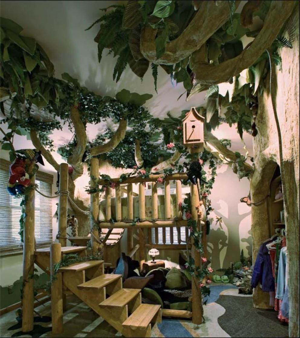 jungle room decor  Jungle bedroom theme, Whimsical bedroom  - Childrens Bedroom Ideas Jungle