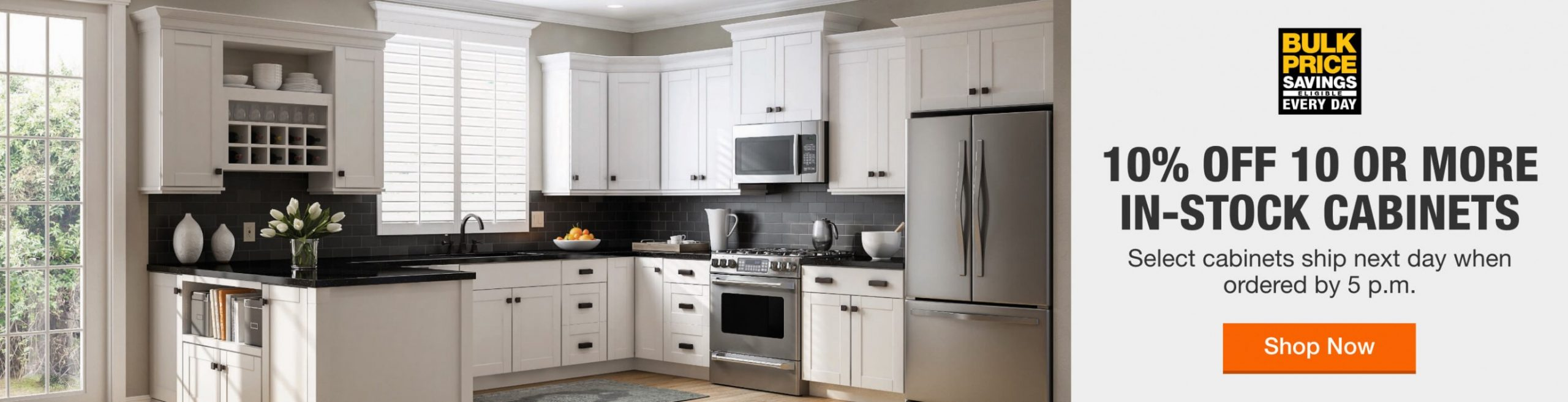 Kitchen Cabinets - The Home Depot - Long Base Kitchen Cabinets