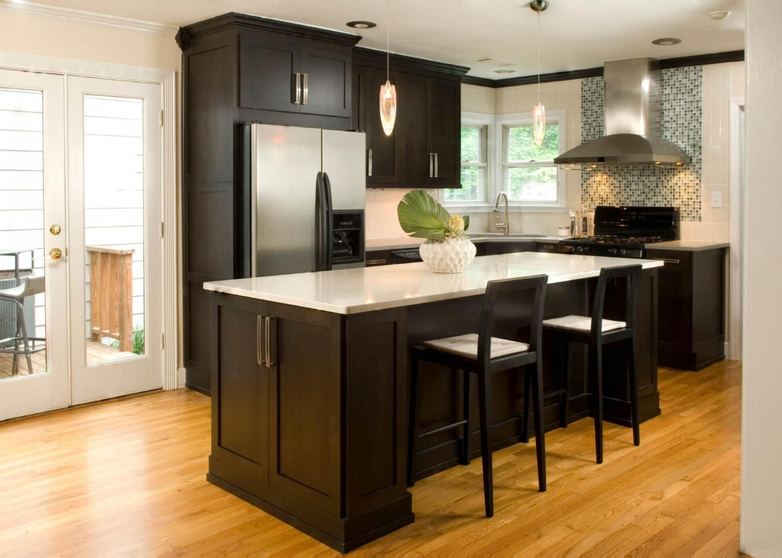 Kitchen Design Tips For Dark Kitchen Cabinets - - New Yorker Kitchen Cabinets