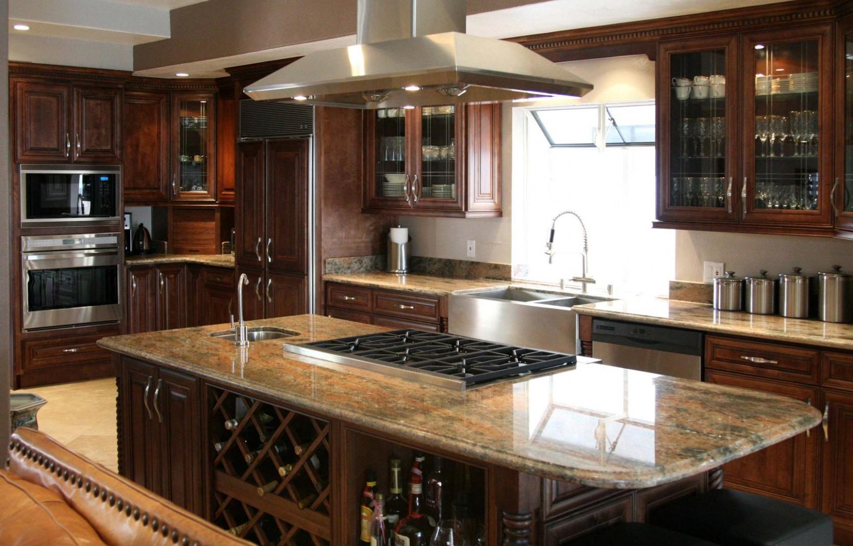 Kitchen Image - Kitchen & Bathroom Design Center - Titan Maple Glaze Kitchen Cabinets