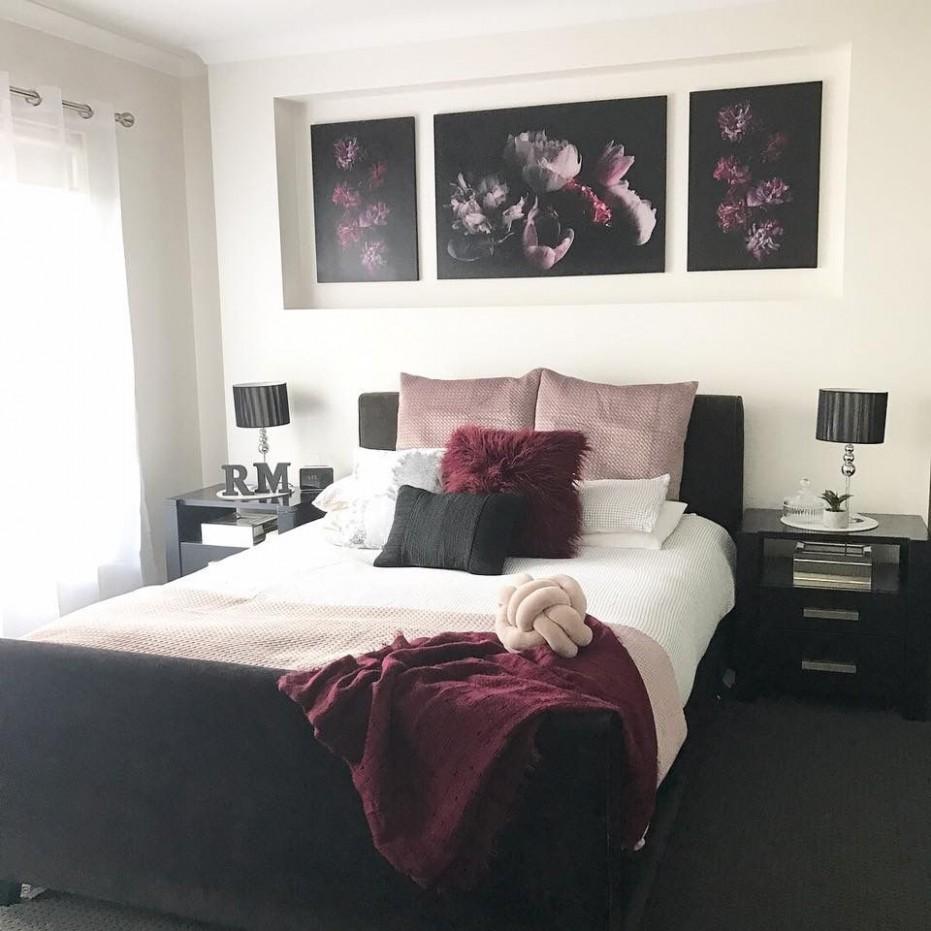 Kmart bedroom  Burgundy bedroom, Bedroom styles, Bedroom interior - Bedroom Decorating Ideas Kmart