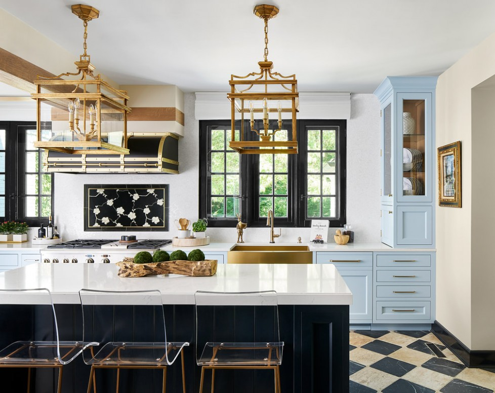 Lake Forest Showhouse Kitchen 12 - Design Matters - Donate Kitchen Cabinets Chicago