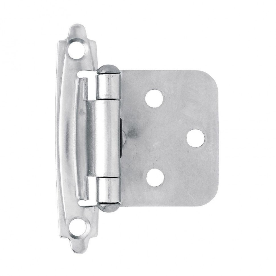 Liberty Chrome Self-Closing Overlay Cabinet Hinge (11-Pair)-H011011AC-CHR-O11 -  The Home Depot - Chrome Hinges For Kitchen Cabinets
