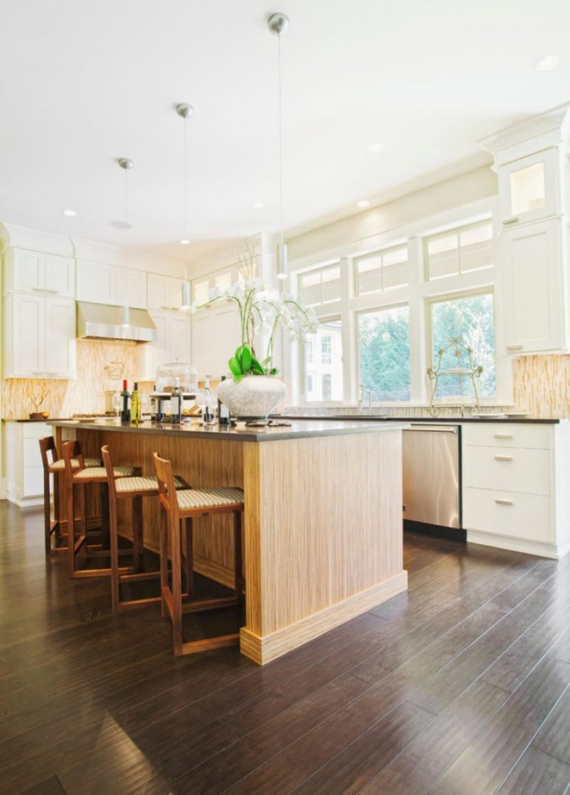 Light Grey Kitchen Cabinets With Dark Wood Floors: Dream Home 11  - Kitchen Cabinets With Dark Floors