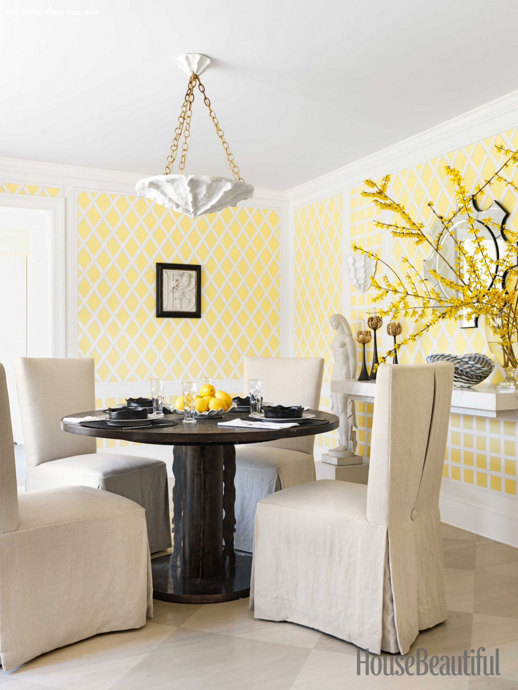 Light Yellow Dining Room Ideas in 9  Yellow dining room, Room  - Light Yellow Dining Room Ideas