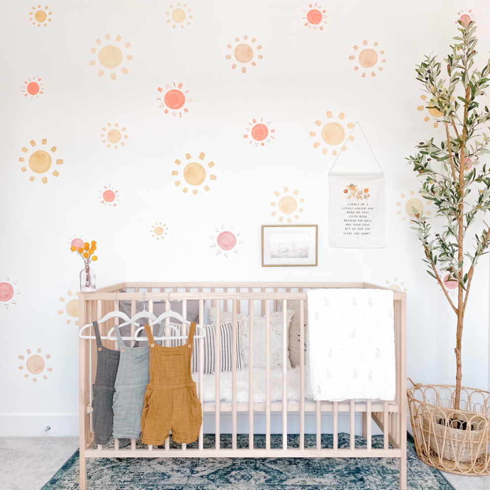 Little Sunshine Wall Stickers - Baby Room Stickers
