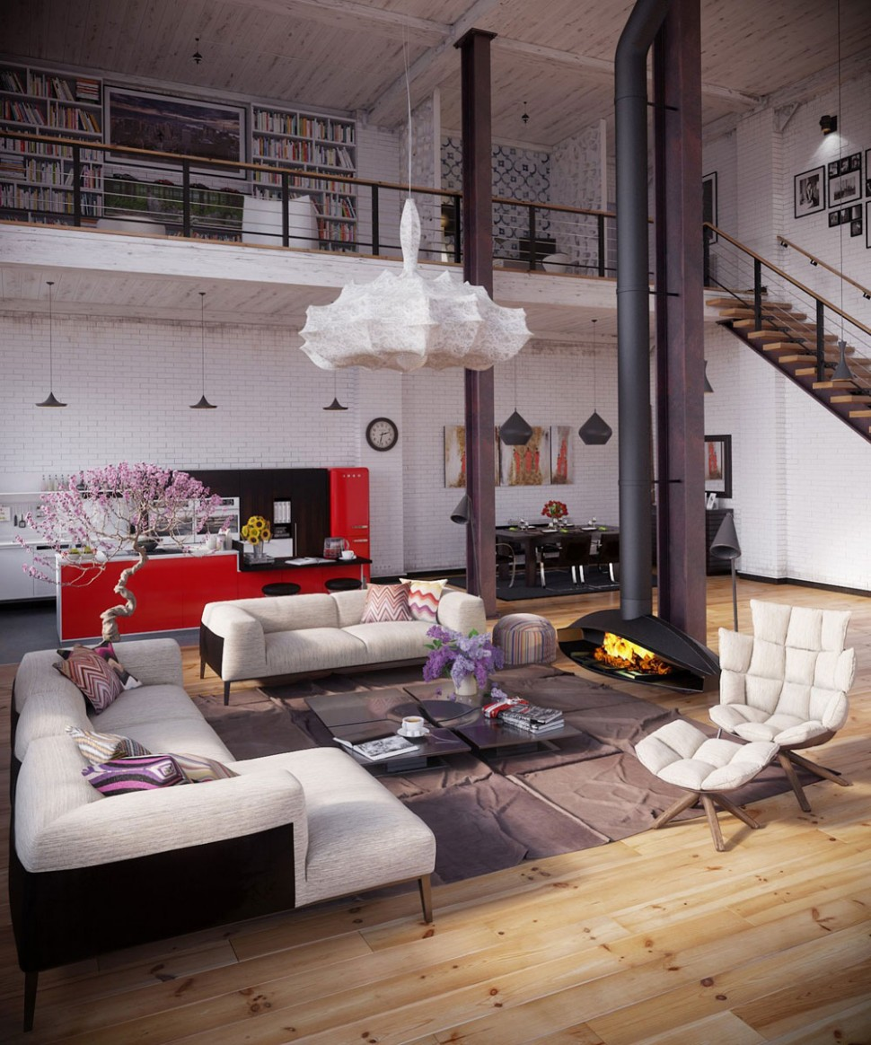 Living Large: How to Decorate a Loft Apartment - Abode - Loft Apartment Decor Ideas