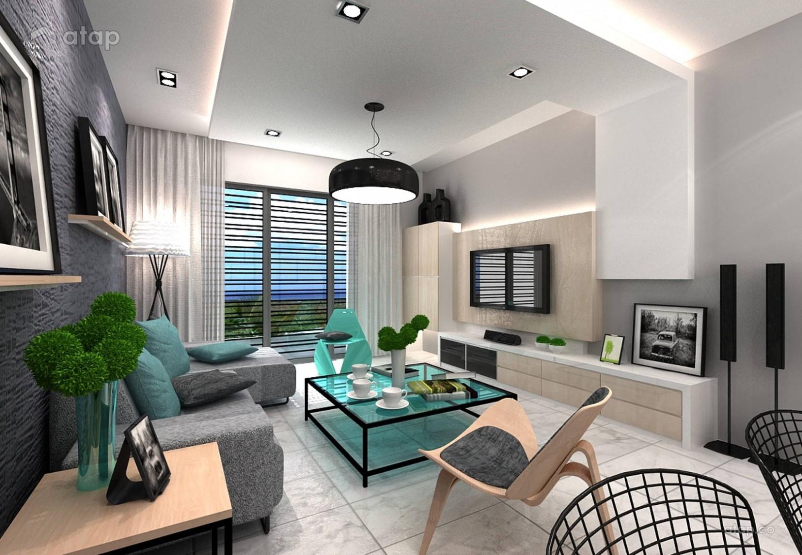 Living Room Interior Design Ideas For Apartments - Novocom