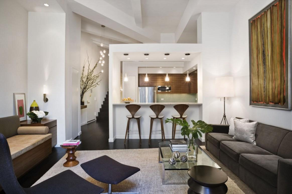 Loft Style Apartment Design In New York  iDesignArch  Interior  - Apartment Design New York