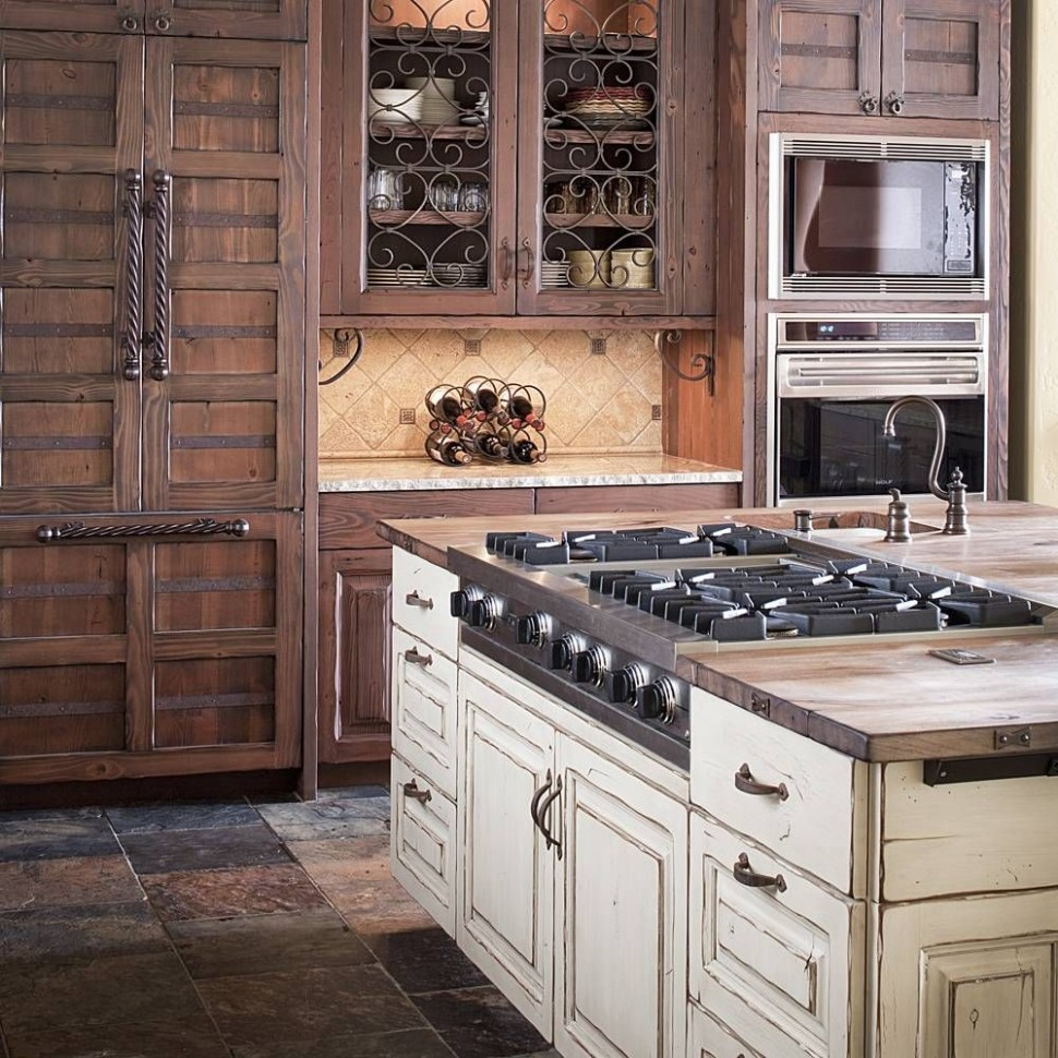 Look at that hidden Refrigerator and double ovens
