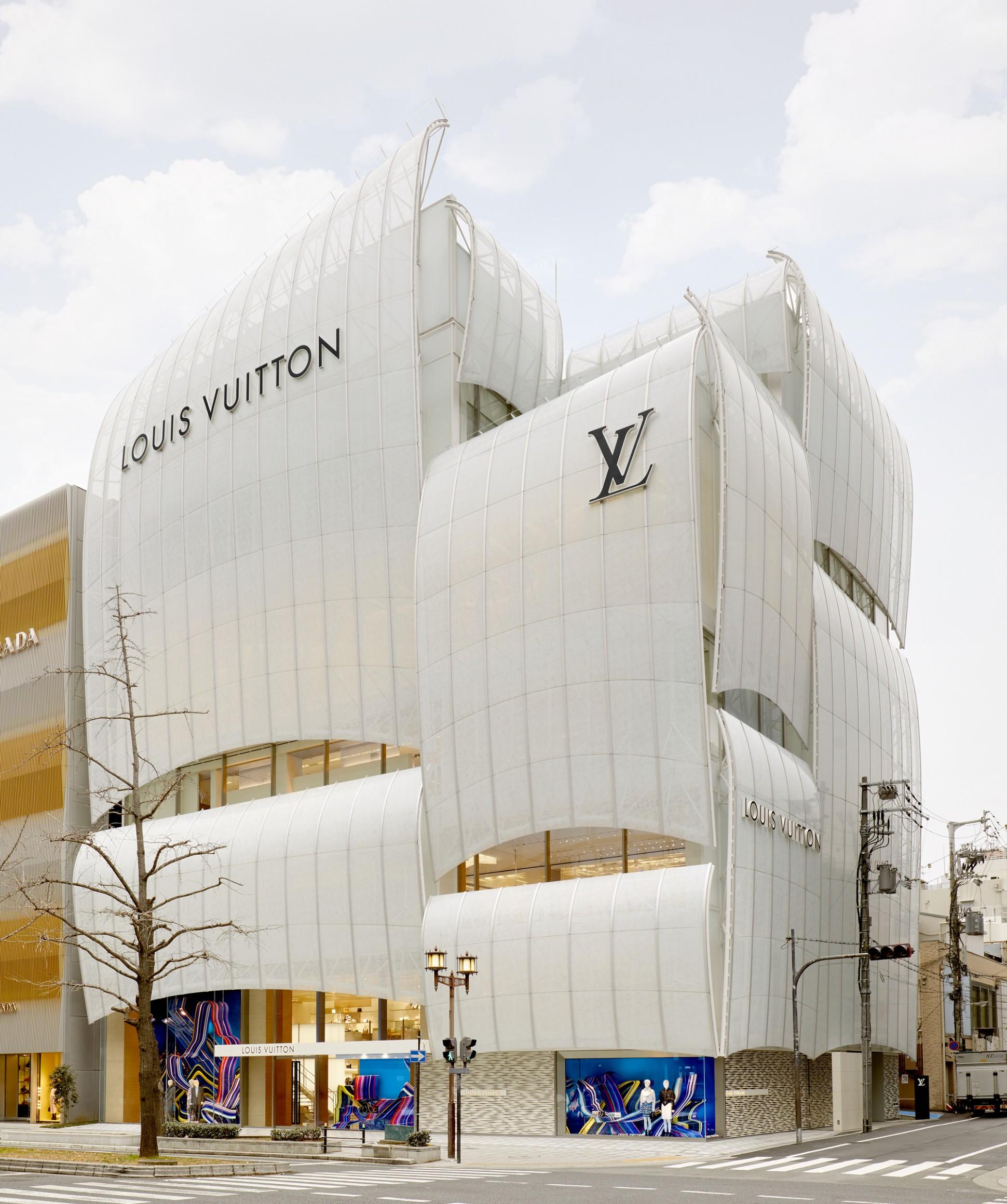 LOUIS VUITTON Maison Osaka Midosuji / Jun Aoki & Associates  - Design Apartment Next To Louis Vuitton Building