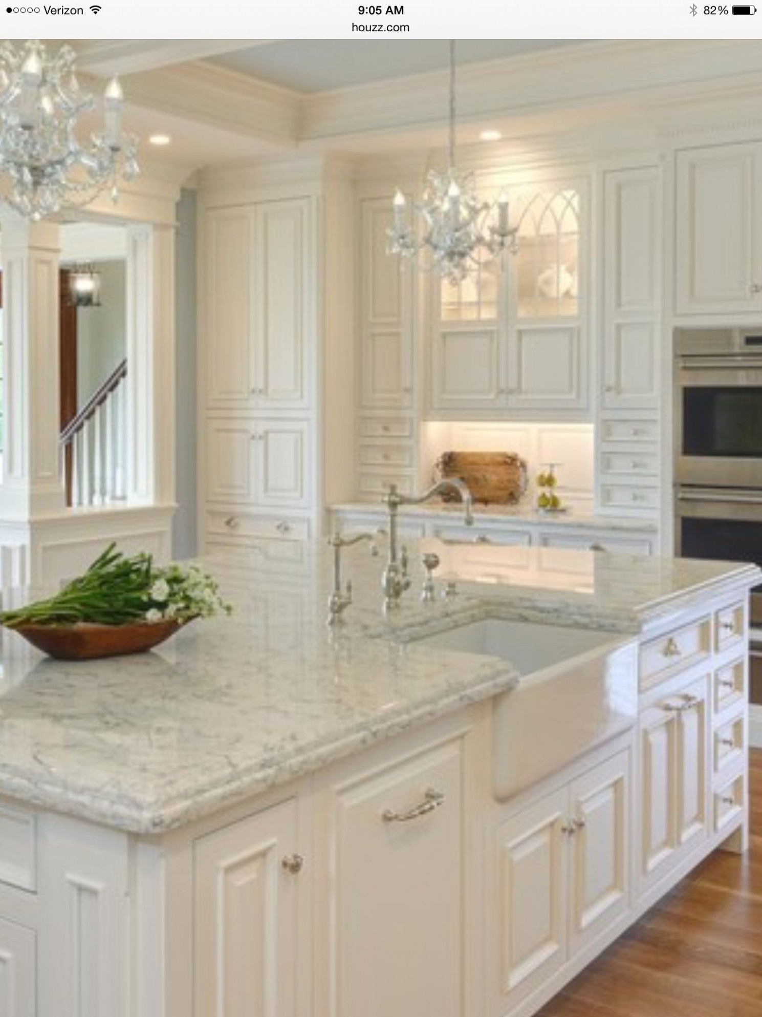 Lovely White Kitchen Cabinets with Light Quartz Countertops – The  - White Kitchen Cabinets And Quartz Countertops