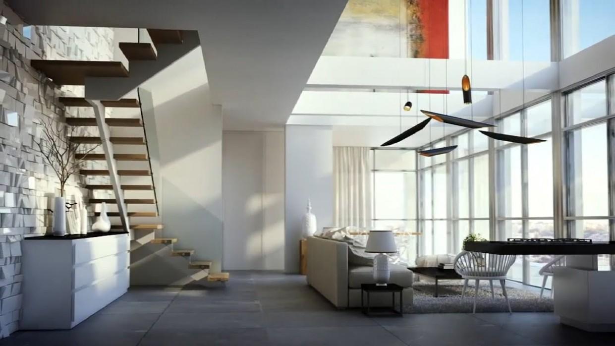 Luxurious duplex apartment in Jerusalim 12D Visualisation HD - YouTube - Apartment Duplex Design