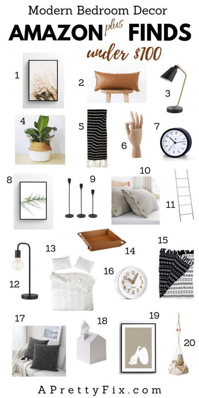 Mainly) Amazon Bedroom Decor Finds Under $11 in 11  Bedroom  - Bedroom Ideas Amazon