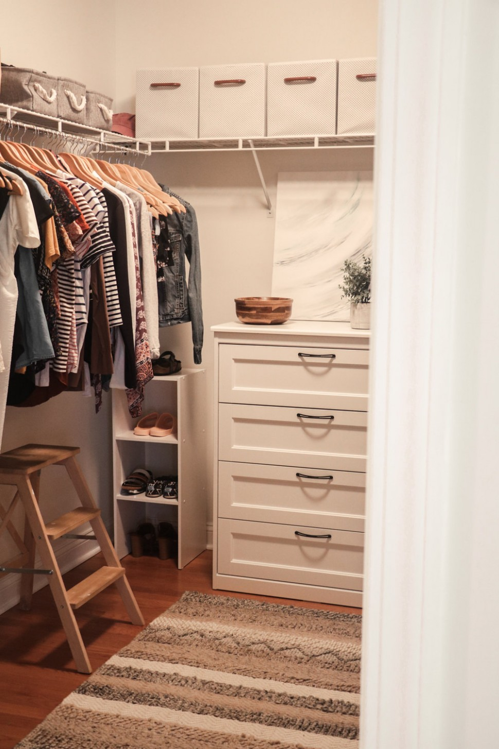 Master Bedroom Closet  Small Changes For a Big Change — root + dwell - Closet Ideas In Bedroom