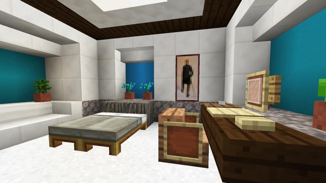 Minecraft Bedroom Interior Design - Bedroom Ideas In Minecraft