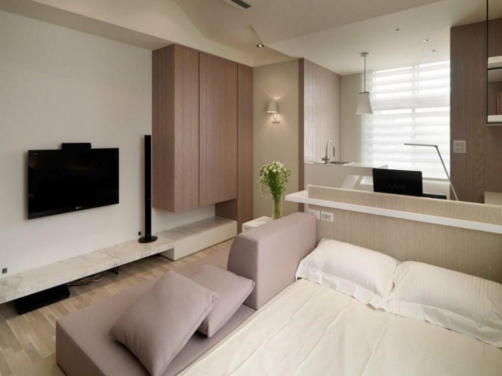 Minimal Studio Apartment Designs Ideas  Dekorasi apartemen kecil  - Design Apartment Kecil