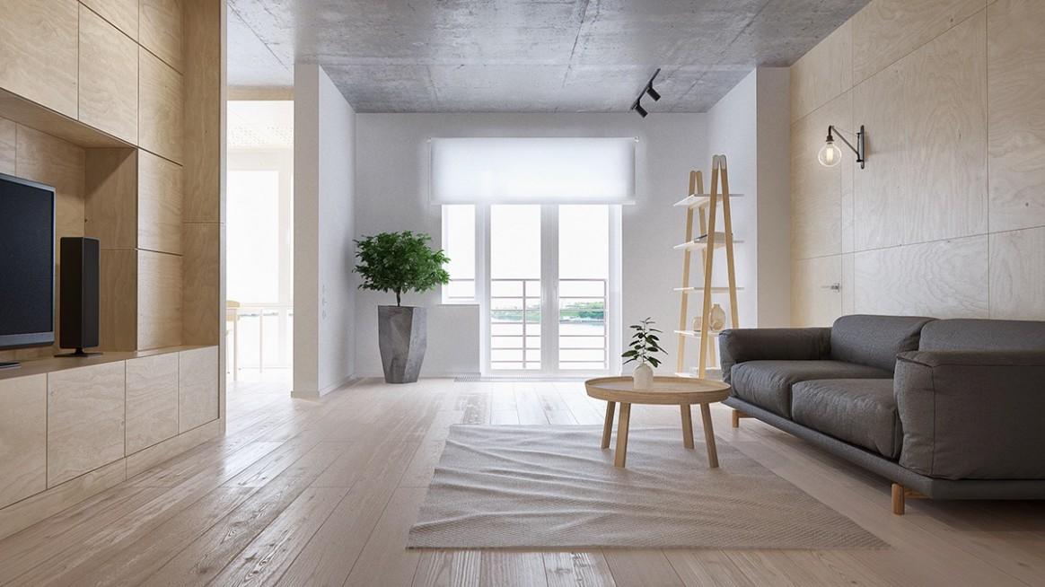 Minimalist Apartment for a Family of Four - Apartment Design Minimalist