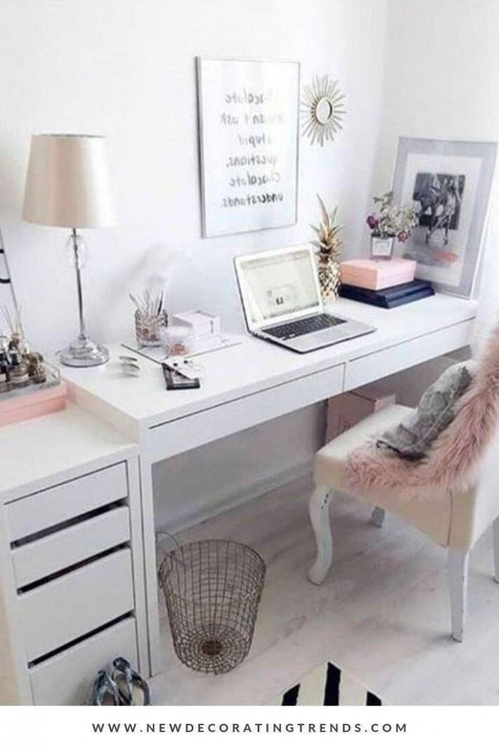 Minimalist White home office ideas that make your life easier  - Home Office Ideas White