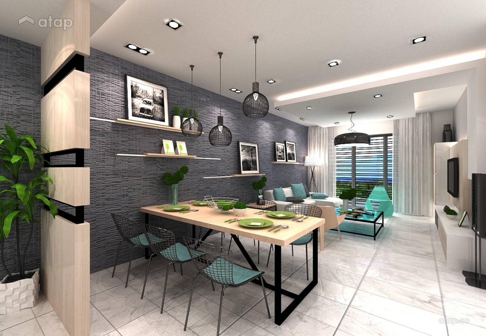 Modern Apartment Design interior design renovation ideas, photos  - Apartment Design Malaysia