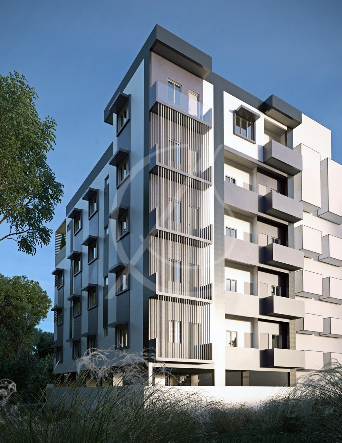 Modern Apartment Exterior Design  Comelite Architecture Structure  - Apartment Exterior Design India