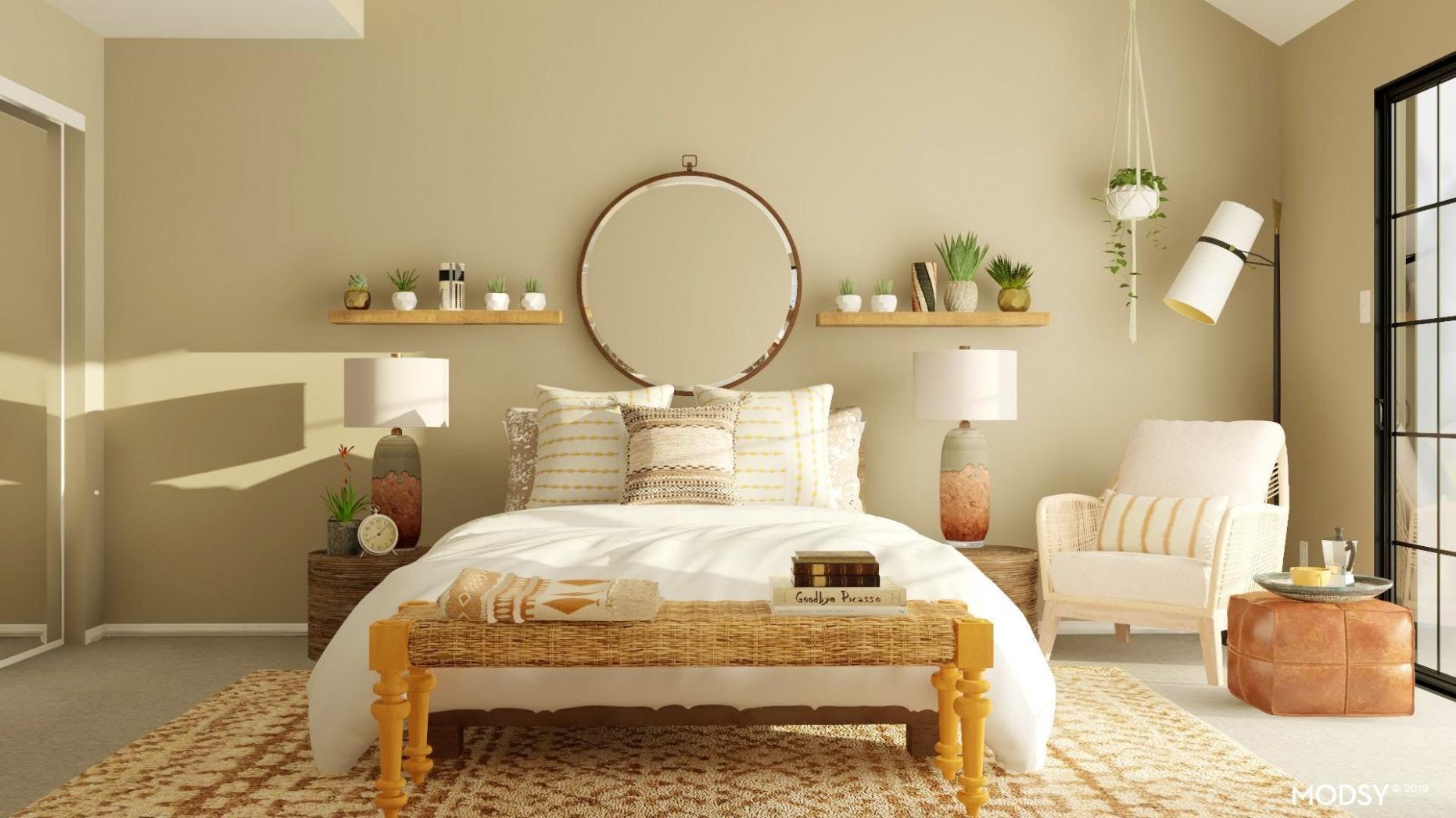 Modern Earth Tones Bedroom  Modern-Style Bedroom Design Ideas - Bedroom Ideas Earth Tones