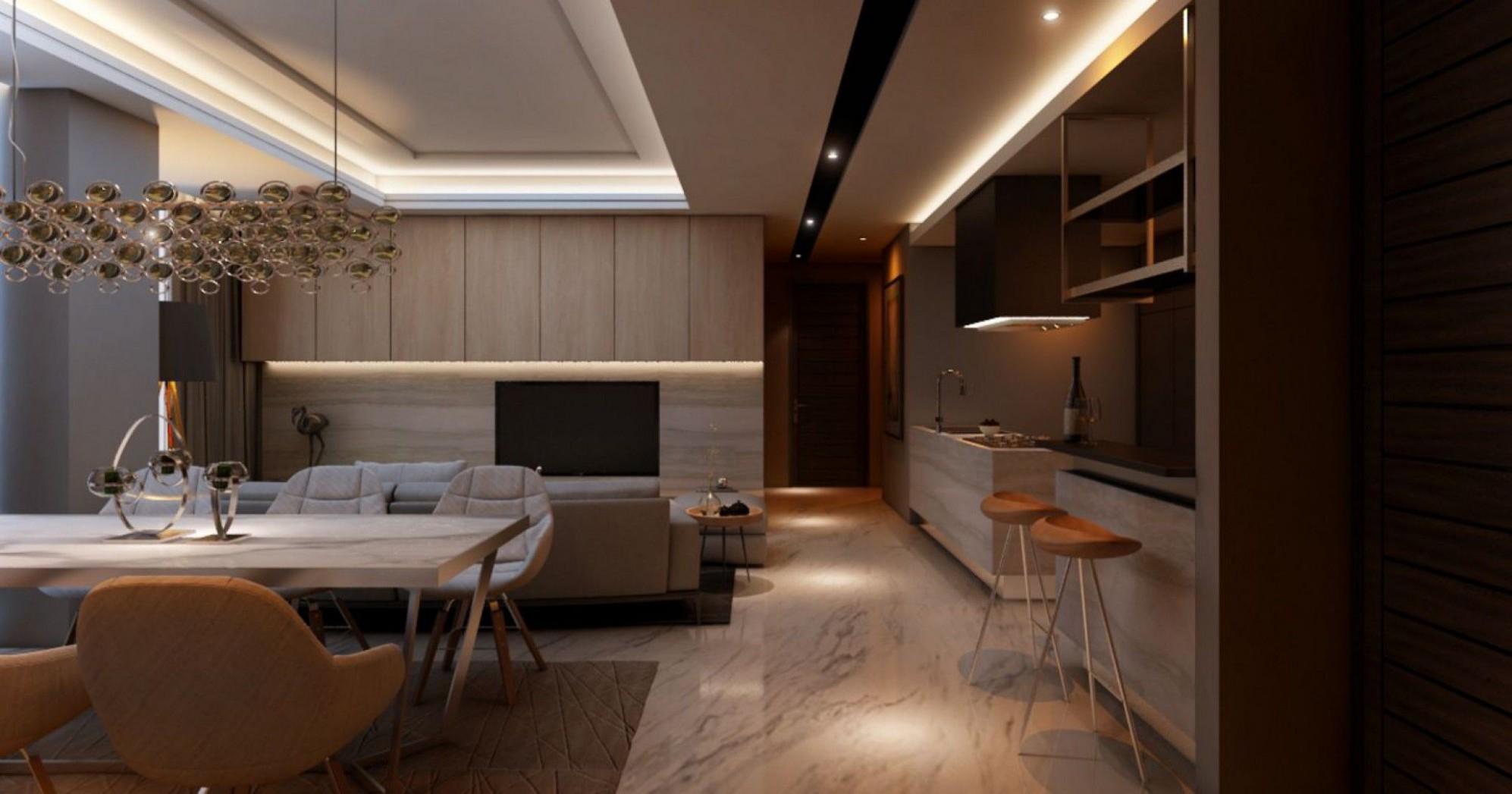 Modern  Spring Hill  Jakarta Pusat  Manna Interior  Apartment  - Apartment Interior Design Jakarta