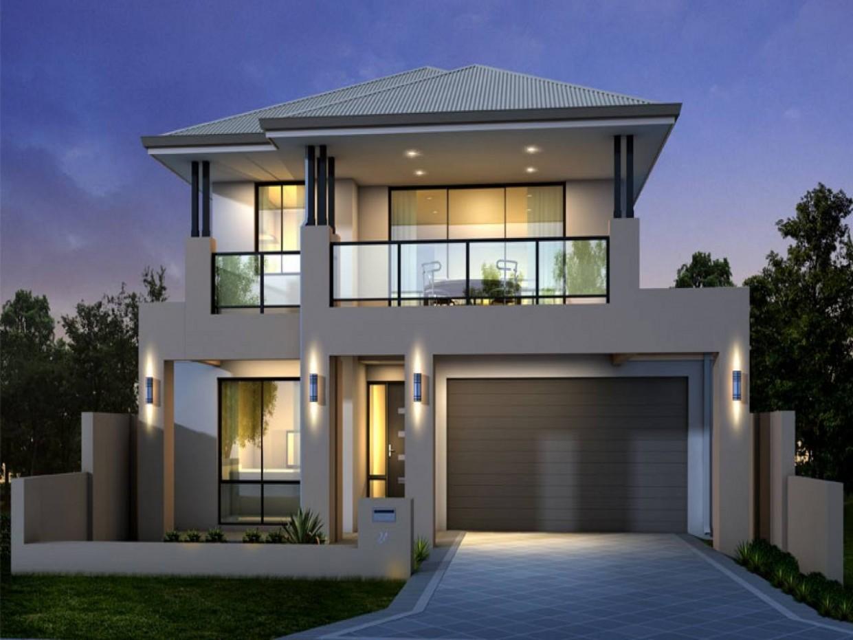 Modern Two Storey House Designs Plan - Home Plans & Blueprints  - Apartment Design Two Storey