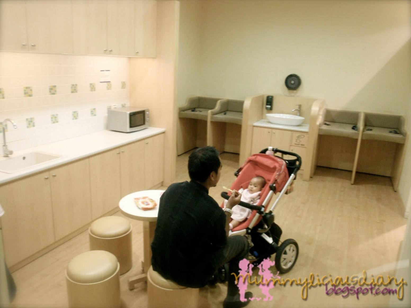 Mummylicious Diary: Mummylicious Baby Room Review: Isetan KLCC - Baby Room Klcc