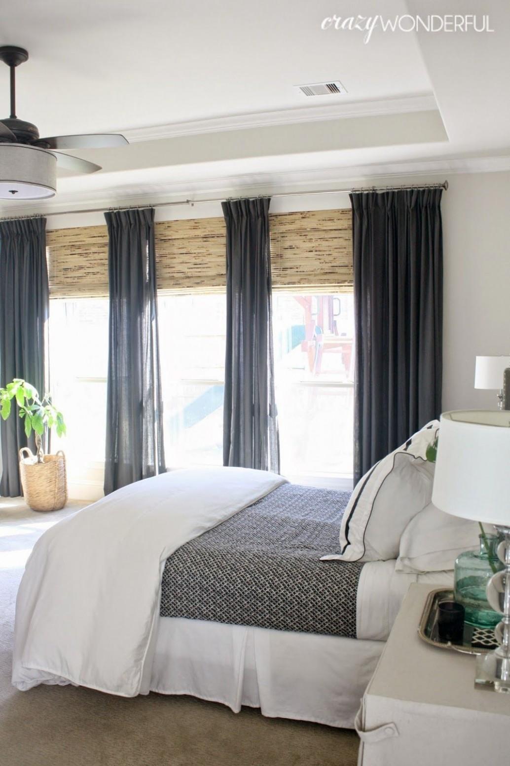 my bedroom  Window treatments bedroom, Master bedroom makeover  - Window Treatment Ideas For Bedroom