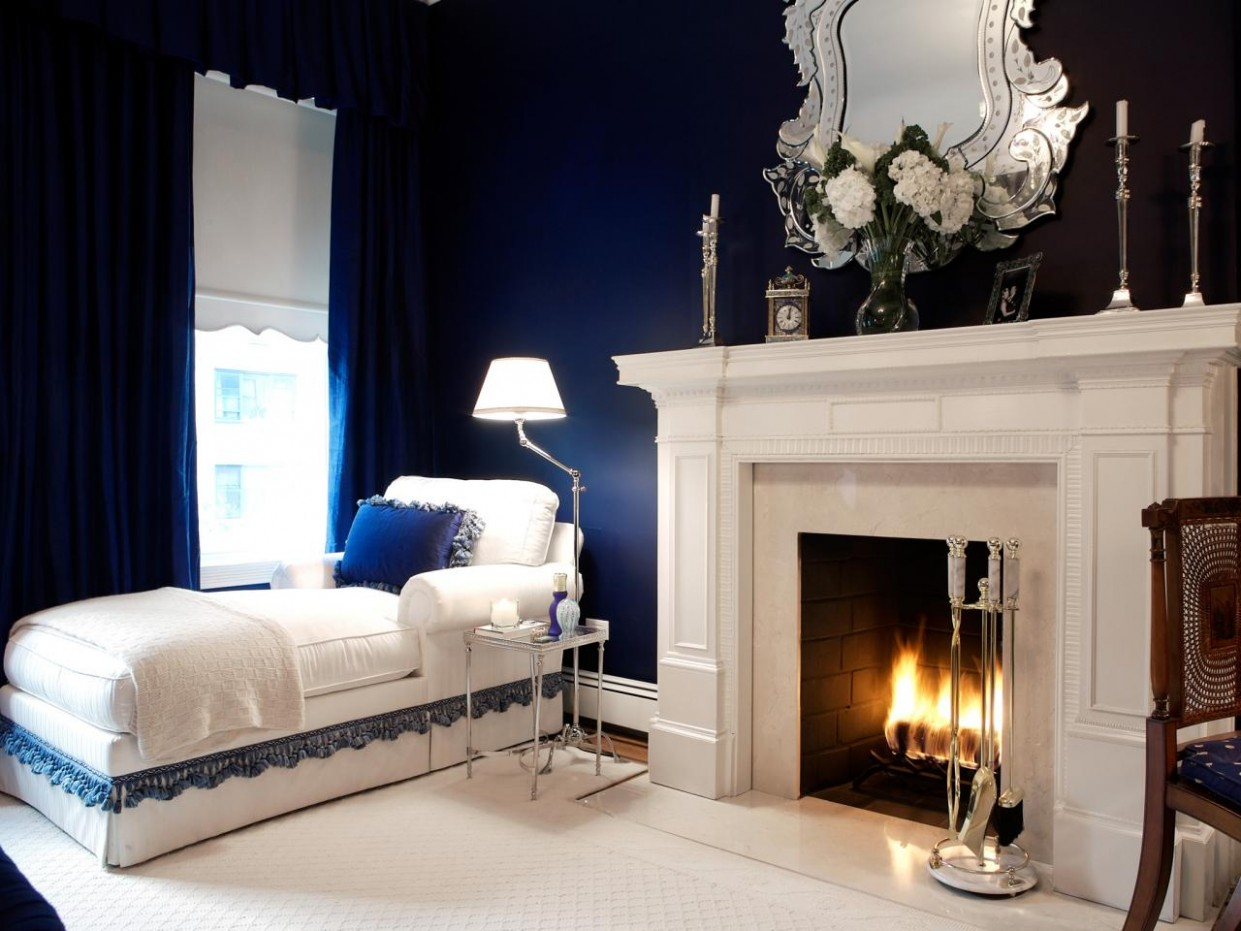 Navy Blue Bedrooms: Pictures, Options & Ideas  HGTV - Bedroom Ideas Navy And White
