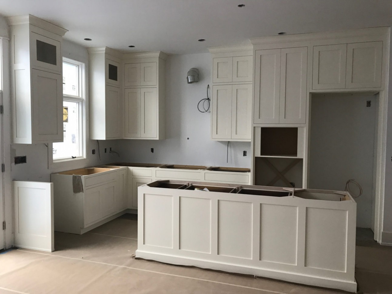 New Construction in Lincoln Park Chicago  Construction Project  - Donate Kitchen Cabinets Chicago
