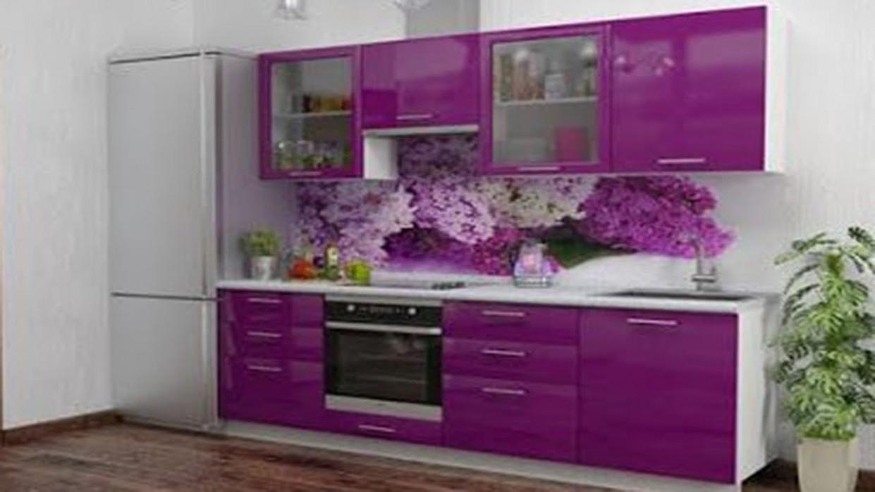 New Purple & Pink Kitchen Design Ideas 10  Modern Kitchen Color Schemes - Pink And Purple Kitchen Cabinets