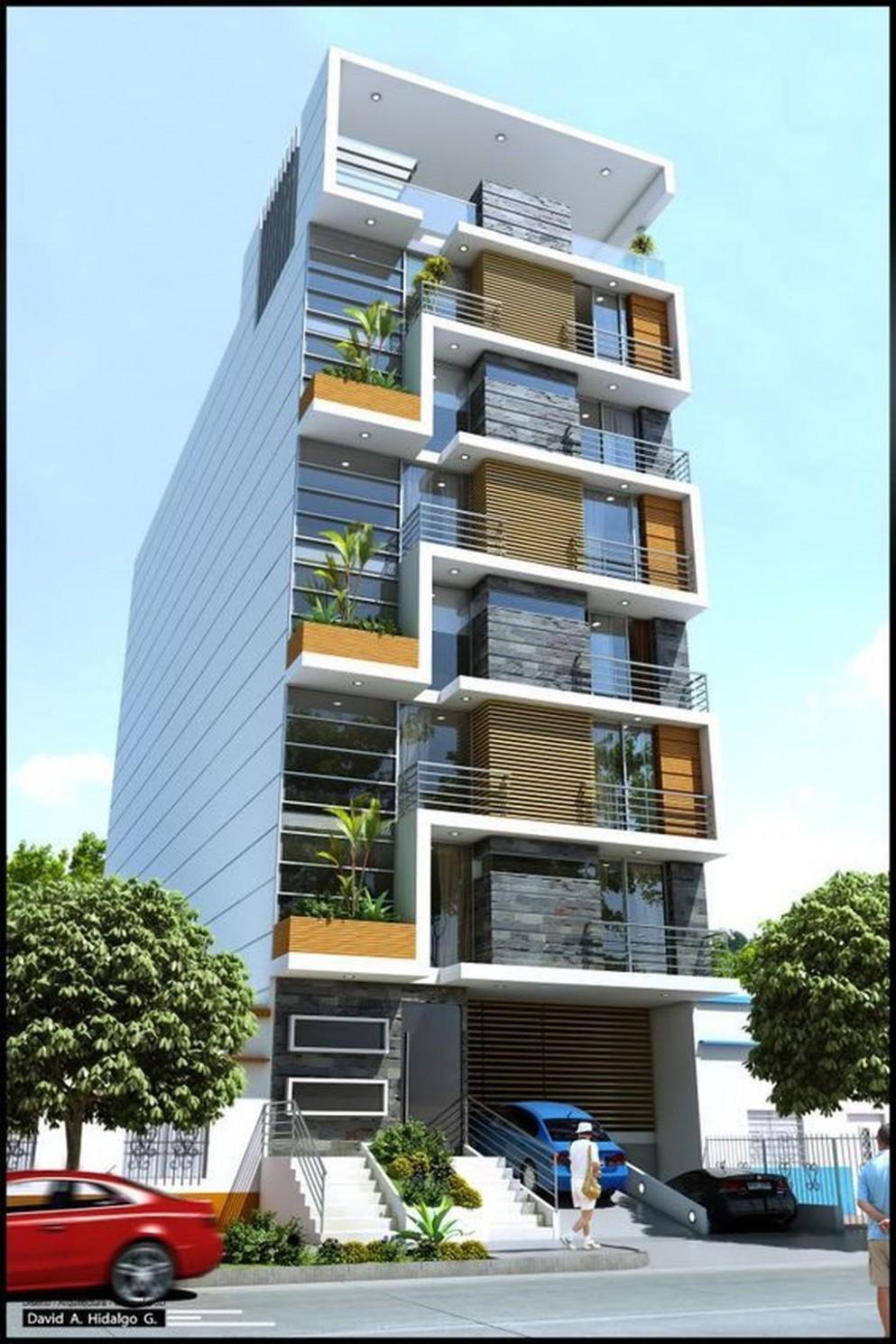 Nice 12 Amazing Apartment Building Facade Architecture Design  - Apartment Design Facade