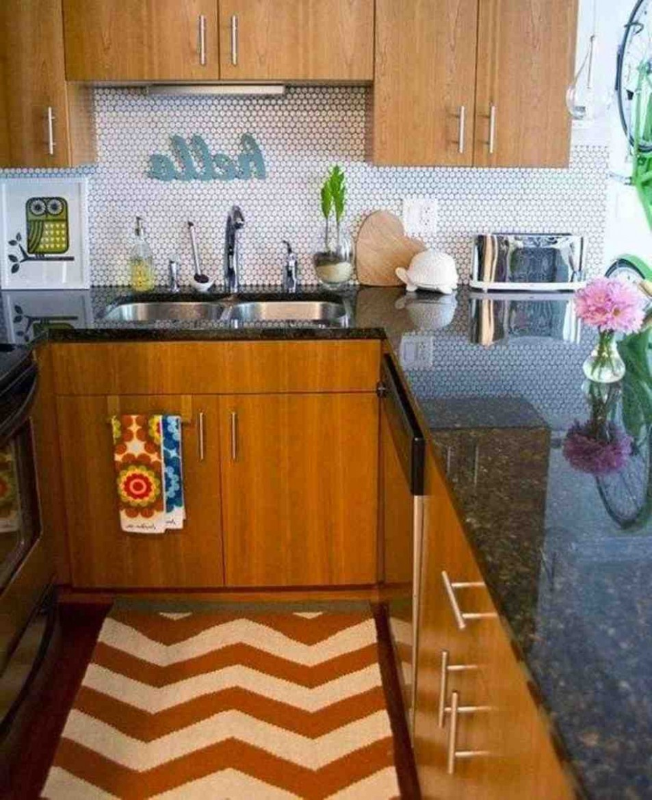 Nice Best Small Kitchen Decorating Ideas For Apartment On Interior  - Small Apartment Kitchen Decor Ideas