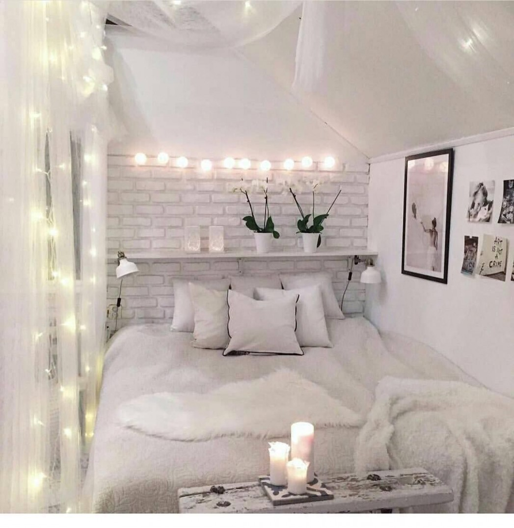 No room for nightstands? Pick your stuff up off the floor and  - Bedroom Ideas Amazon