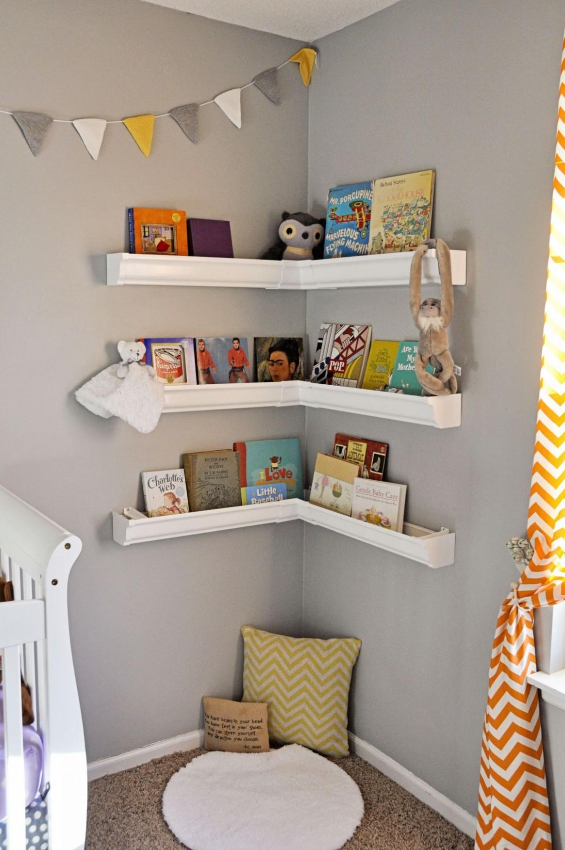 Nursery Bookshelf Ideas With Cute And Playful Designs - Baby Room Bookshelf