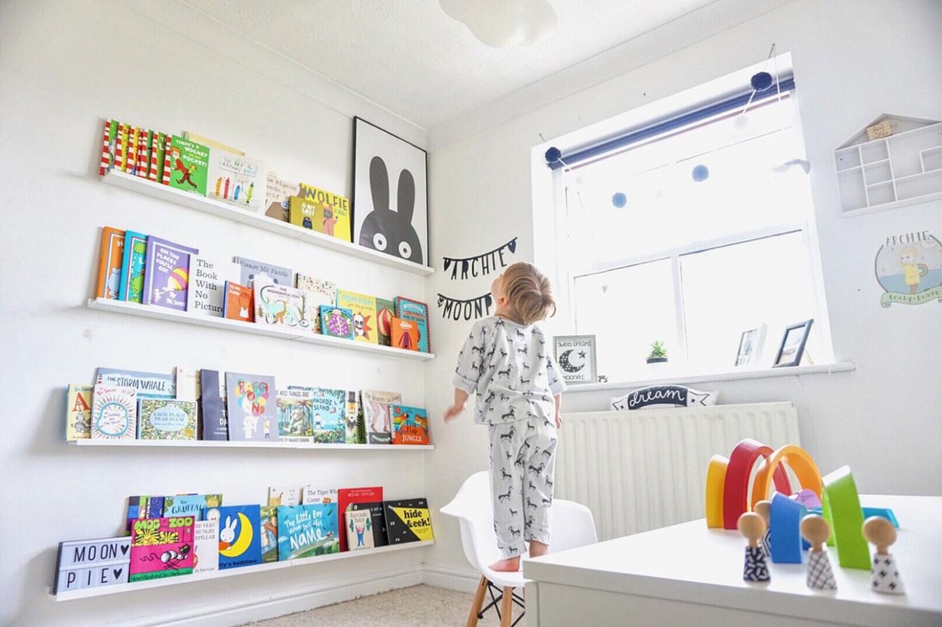 Nursery Bookshelves & Bookcases – Happiest Baby - Baby Room Bookshelf